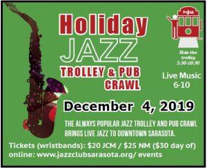 Holiday Jazz Trolley and Pub Crawl