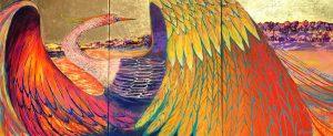 Cecile Moran Firebird Painting